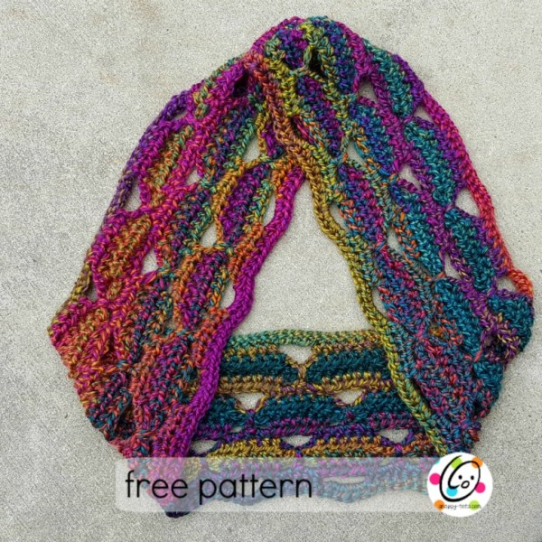 Free Pattern: Unique scarf gets a makeover