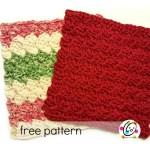 Free Pattern: Scalloped Wash Cloth