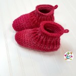 Free Pattern: Infinitely Happy Feet Slippers for Teens and Adults