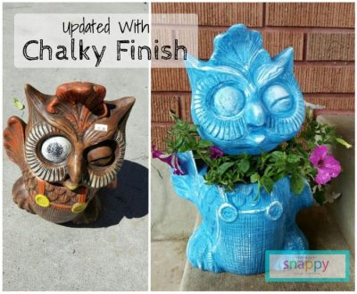 DIY: From Creepy to Cute with Chalky Finish