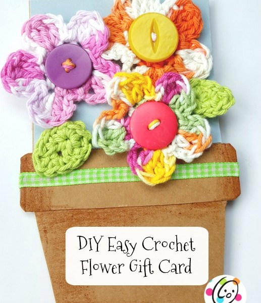 DIY: Handmade Flower Card