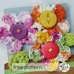 Pattern: Small Crocheted Flowers