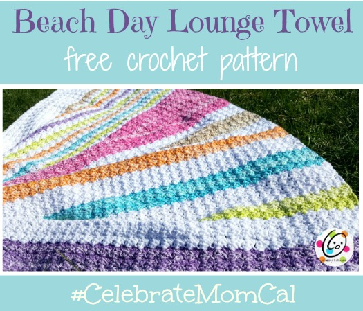 Free Pattern: Beach Day Lounge Towel