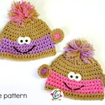 Free Pattern: Twin Baby Monkey Beanies