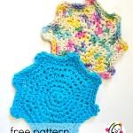 Free Pattern: Splat Scrubbies