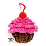 Free Pattern: Cupcake Scrubby and Mitt