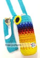 Free Pattern: Eclipse Water Bottle Holder