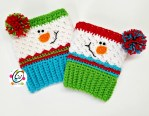 Free Pattern: Sampler Snowman Boot Cuffs