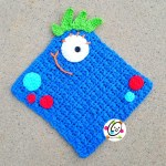 Free Pattern: Monster Washcloth