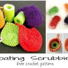 Free Pattern: Floating Scrubbies