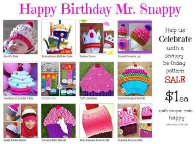 Birthday Patterns to Crochet