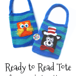 Free Pattern: Ready to Read Tote