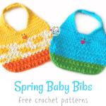Free Pattern: Spring Bibs