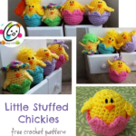 Free Pattern: Little Stuffed Chickies