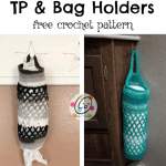 Free Pattern: TP and Bag Holders