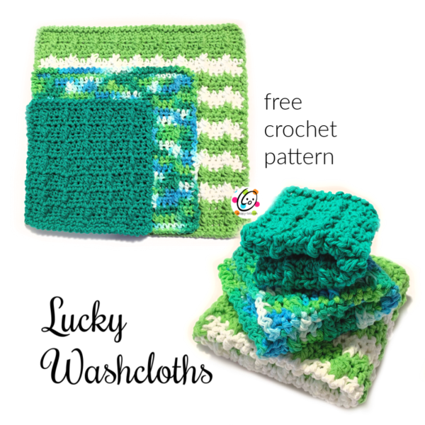 Weekly Wash #8: Lucky Washcloths