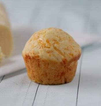 Mini Cheddar Biscuit Muffins with Vanilla Honey Butter