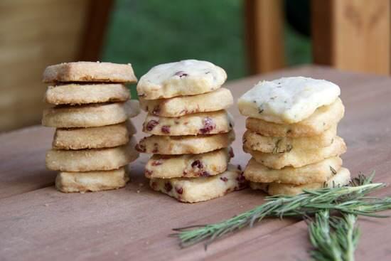 Shortbread Cookie Recipe (3 flavors) | SnappyGourmet.com