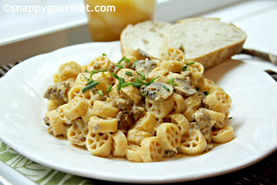 Thanksgiving Recipe Ideas (Creamy Pumpkin Sage Sausage Pasta) | SnappyGourmet.com