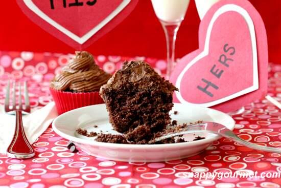 Chocolate Stout Cupcakes Recipe   SnappyGourmet.com
