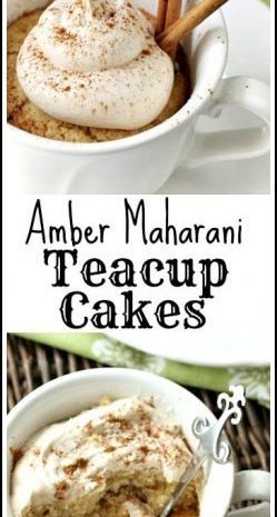 Amber Maharani Teacup Cakes