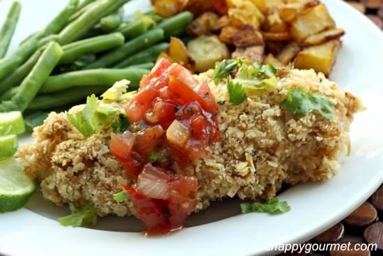 Crunchy Mexican Tortilla Chicken Recipe | SnappyGourmet.com