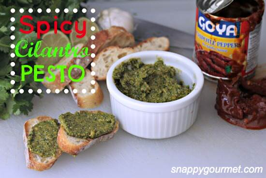 Spicy Cilantro Pesto