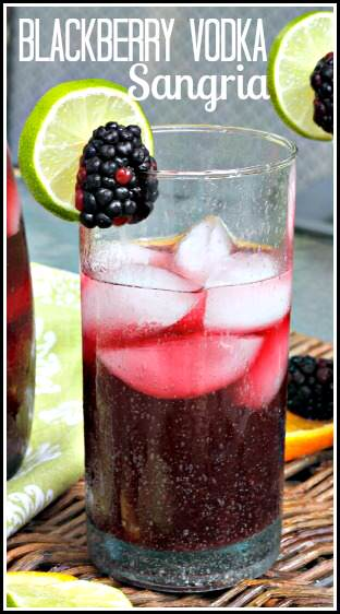 Blackberry Sangria Recipe | SnappyGourmet