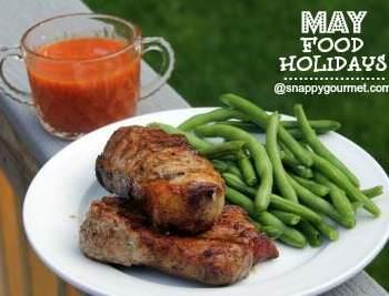 apple bbq ribs - may food holidays