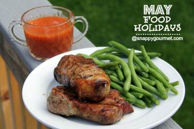 Food Holidays & Recipes (May) | SnappyGourmet.com