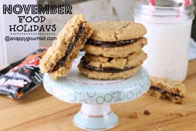 Food Holidays & Recipes (November)   SnappyGourmet.com