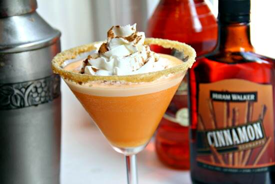 Pumpkin Cheesecaketini | Snappy Gourmet
