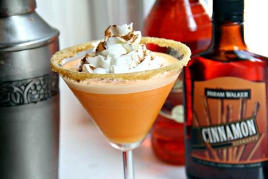 Pumpkin Cheesecaketini | Snappy Gourmet