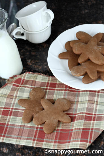 Spicy Chocolate Ginger Guys Recipe | SnappyGourmet.com