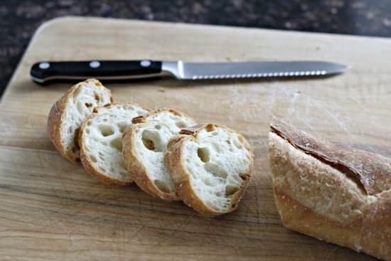 Beet & Bean Salad Crostini Appetizer Recipe | snappygourmet.com