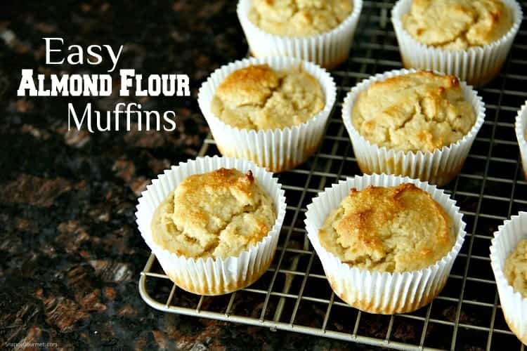 Almond Flour Muffins on cooling rack