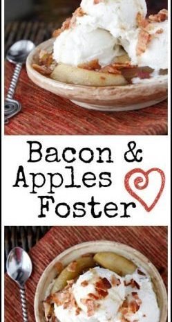 Bacon & Apples Foster