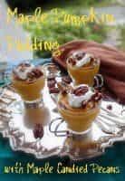 Maple Pumpkin Pudding