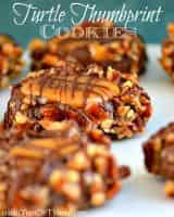 Favorite Christmas Cookies Recipes (Turtle Thumbprints) | snappygourmet.com