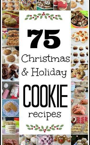 75 Favorite Christmas Cookie Recipes | snappygourmet.com