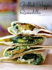70+ Best Zucchini Recipes (Grilled Veggie Quesadilla Recipe) | SnappyGourmet.com