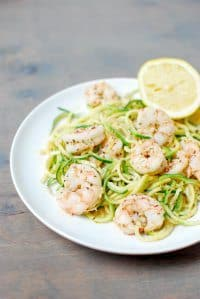 70+ Best Zucchini Recipes (Paleo Shrimp Scampi Recipe) | SnappyGourmet.com