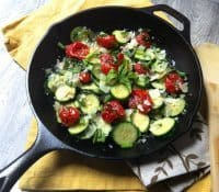 70+ Best Zucchini Recipes (Sauteed Tomato Basil and Zucchini Recipe) | SnappyGourmet.com