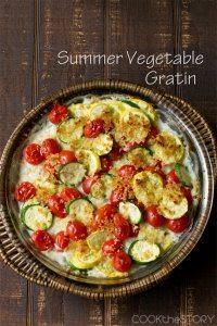 70+ Best Zucchini Recipes (Summer Squash and Zucchini Gratin Recipe)   SnappyGourmet.com