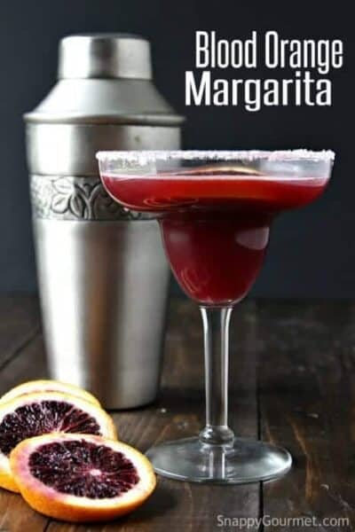 Blood Orange Margarita recipe - easy refreshing cocktail | SnappyGourmet.com
