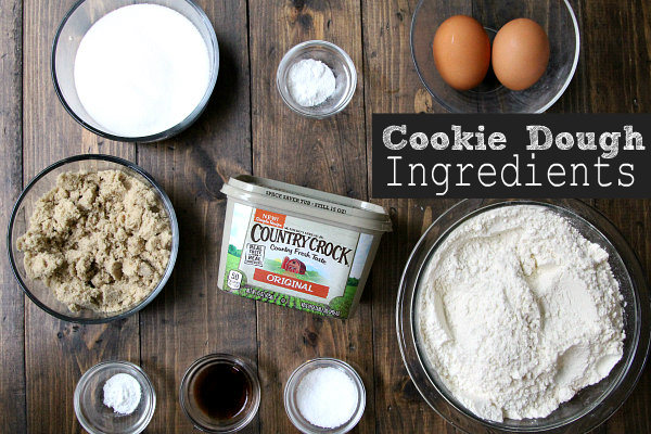 Cookie Dough Ingredients