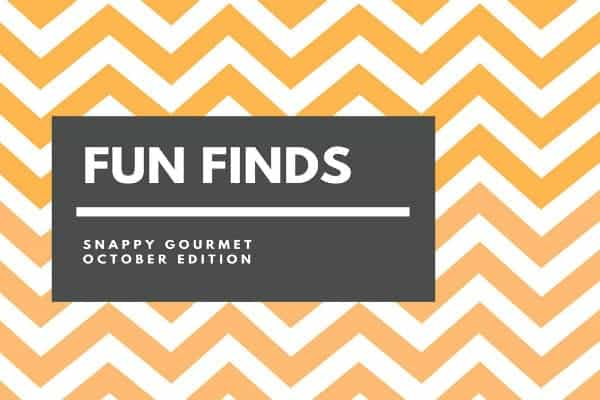 Fun Finds and Gift Ideas (October Edition) | SnappyGourmet.com