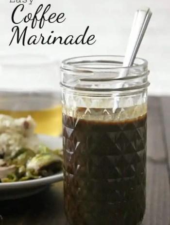 Easy Coffee Marinade Recipe