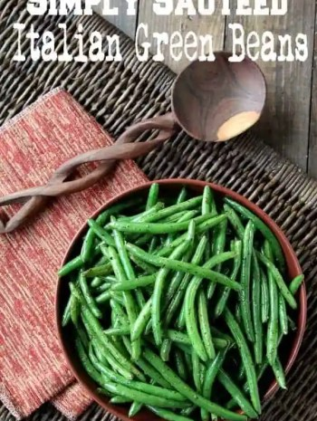 Simply Sautéed Italian Green Beans Recipe