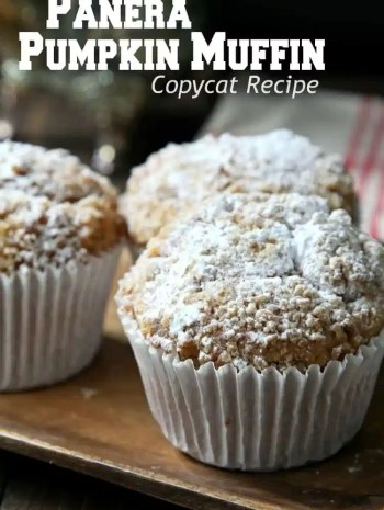 Panera Pumpkin Muffin Recipe